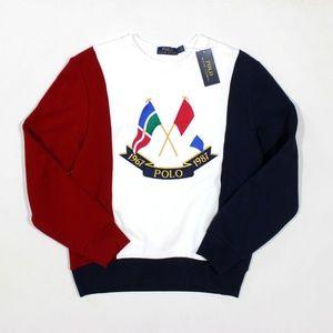 Polo Ralph Lauren Limited Ed Cross Flag Sweatshirt